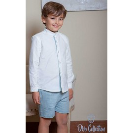 DBB Collection Winter Boy Set White and Blue