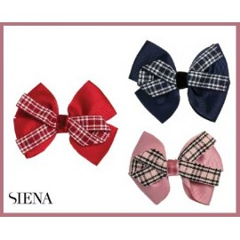 Siena Girl Pin with Lace and Scottish Squares