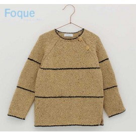 Foque Winter Boy Sweater Camel