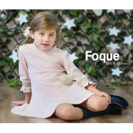 Foque Winter Girl Dress Poema