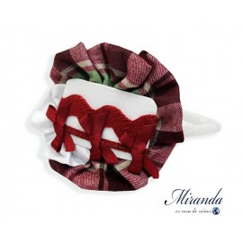 Miranda Winter Girl Diadem Ties and Squares