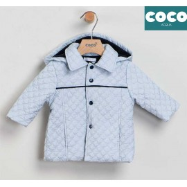 Coco Acqua Winter Baby Boy Blue Coat