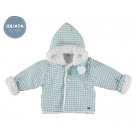 Juliana Winter Baby Boy Light Green Coat
