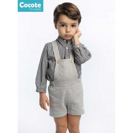 Cocote Winter Baby Boy Set Black and Gray