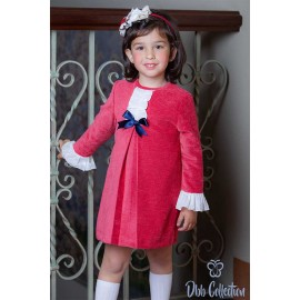 DBB Collection Winter Girl Dress Strawberry