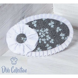 DBB Collection Invierno Pinza niña Gris Flores