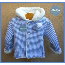 Juliana Winter Baby Boy Blue Coat