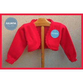 Juliana Winter Baby Girl Jacket Red
