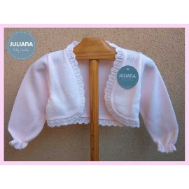Juliana Winter Baby Girl Jacket Light Pink