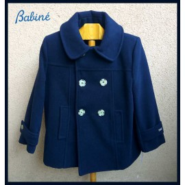 Babine Winter Boy Navy Coat