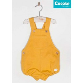 Cocote Winter Baby Boy Romper Ocher