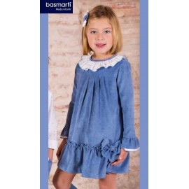 Basmartí Winter Girl Dress Bristol Low Ruffle