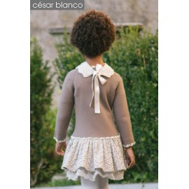 Cesar Blanco Winter Girl Dress Fiesta