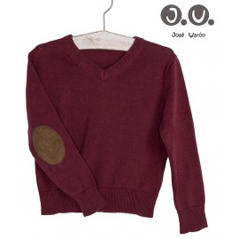 José Varón Winter Boy Wine Sweater