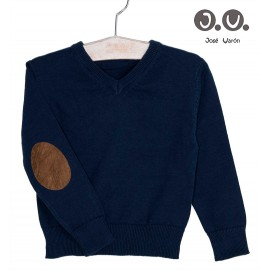 José Varón Winter Boy Navy Sweater