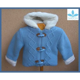 Sardon Winter Baby Boy Blue Coat