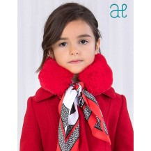 Abel & Lula Winter Girl Red Hair Scarf