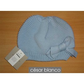 Cesar Blanco Winter Girl Hat Light Blue