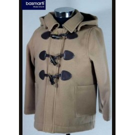Basmarti Winter Boy Camel Coat