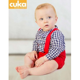 Cuka Summer Baby Boy Set Mexico