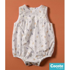 Cocote Summer Baby Romper Pears