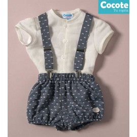 Cocote Summer Baby Boy Set Provence