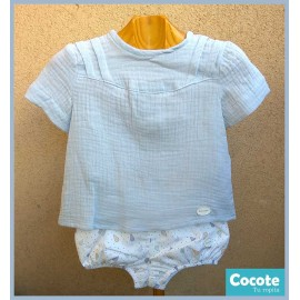 Cocote Summer Baby Boy Set Pears