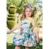 Babiné Summer Baby Girl Dress Printed with Tulle Mid Sleeve