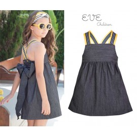 Eve Children Summer Girl Dress Bee Denim
