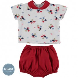 Juliana Summer Baby Boy Set Fishes