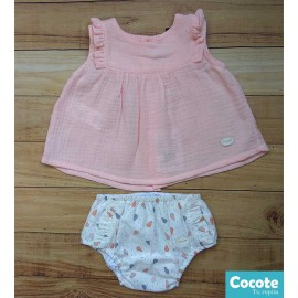 Cocote Summer Baby Girl Set Pears