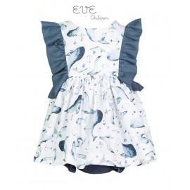 Eve Children Summer Baby Girl Dress Dolphi