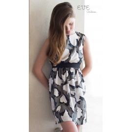 Eve Children Summer Girl Dress Army