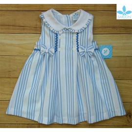 Sardon Summer Girl Dress Gabriela Blue