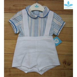 Sardon Summer Baby Boy Set Romper Gabriela