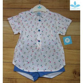 Sardon Summer Baby Boy Set Esmeralda