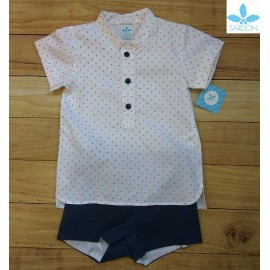 Sardon Summer Baby Boy Set Hector Navy
