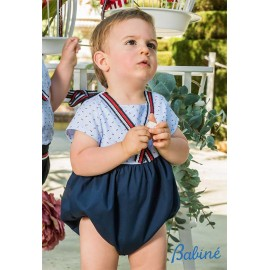 Babiné Summer Baby Boy Romper Nautical
