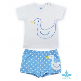 Sardon Summer Baby Boy Swim Set Duck