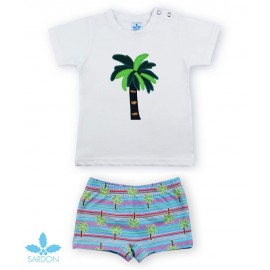 Sardon Summer Boy Swim Set Palm