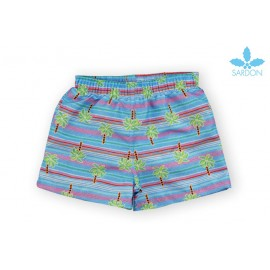 Sardon Summer Boy Swimsuit Palms