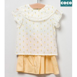 Coco Acqua Summer Girl Set Pineapples