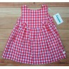 Cocote Summer Girl Dress Strawberry Squares