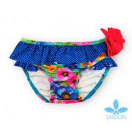 Sardon Summer Girl Swim knickers Roses