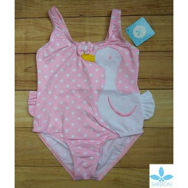 Sardon Summer Girl Pink Swimsuit Duck