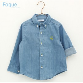 Foque Summer Boy Shirt Denim