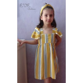 Eve Children Summer Girl Dress Bee