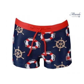 Miranda Summer Baby Boy Swimsuit Anchors