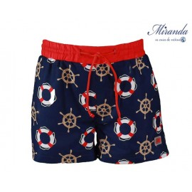 Miranda Summer Boy Swimsuit Anchors