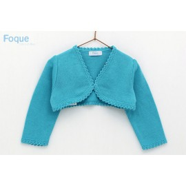 Foque Summer Girl Short Jacket Turquesa